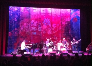 Roberto Fonseca, a Cuban jazz pianist, jams out at the Buskirk-Chumley Theatre on Saturday night.