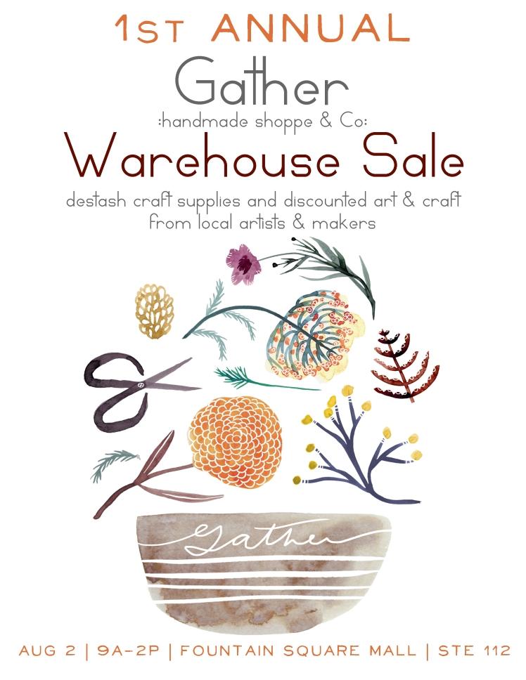 warehouse sale copy