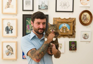 5-Mike-and-BUB-at-Art-show.jpg