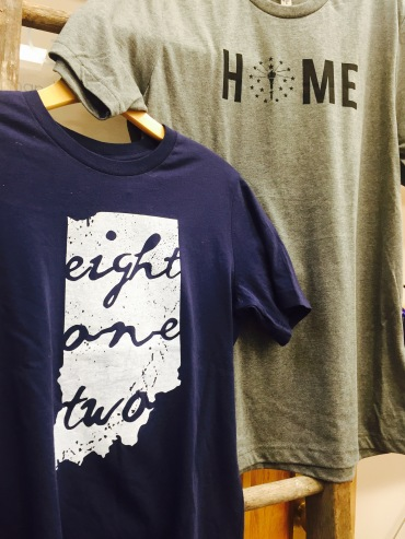 Tees available at Gather : handmade shoppe
